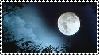 Full Moon Stamp by HellviewResident