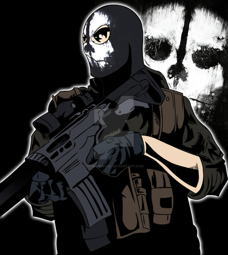 Call Of Duty Ghost Logan Walker Best Cosplay Art By: Call Of Duty: Ghosts By ITakerMetal On DeviantArt
