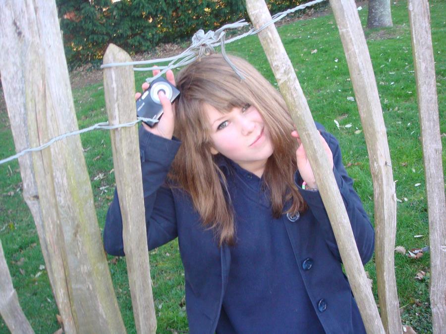 Girl Stuck In Fence By ChineseMidget On DeviantArt