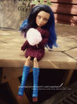 Robecca Repaint ~Monster High custom~ 2 by Toxickirsty