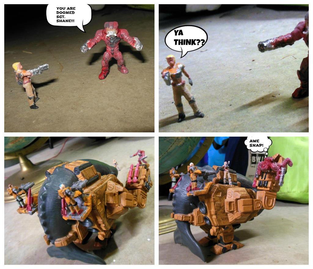 The Battle! by KINGOOB