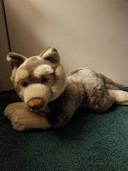 Bauer Wolf Plush by sparkskull789