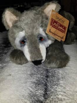 Lou Rankin Wolf plush
