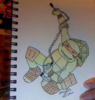 Michelangelo - colored by TheBabzilla