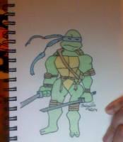 Leonardo - colored by TheBabzilla