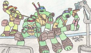 2012 Teenage Mutant Ninja Turtles by TheBabzilla