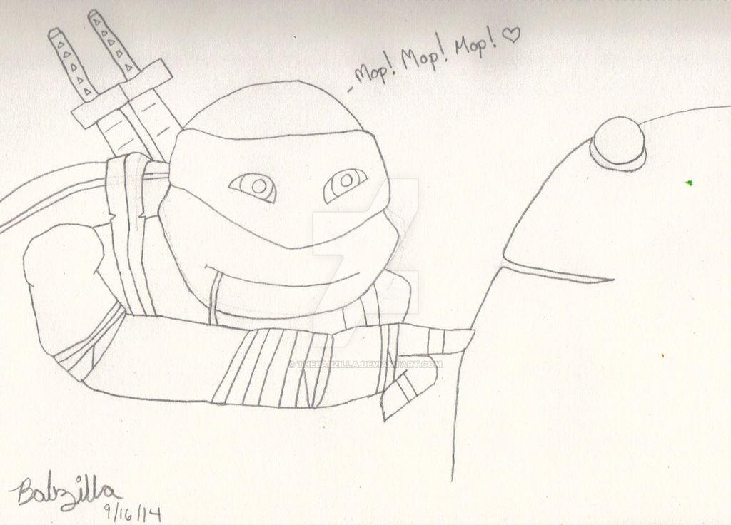Leonardo - Mop! Mop! Mop!
