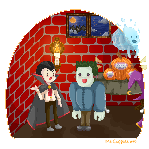 Halloween Party by MsCappuccino