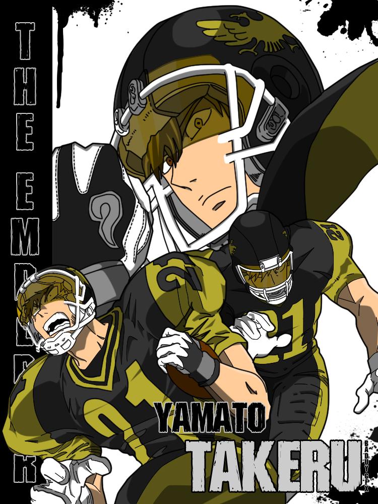 Yamato Takeru by pogzki