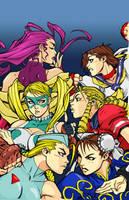 Street Fighter Babes: Joe Mad by pogzki