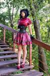 Latex gothic lolita