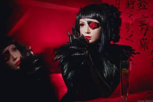 Red Room by Violet-Spider