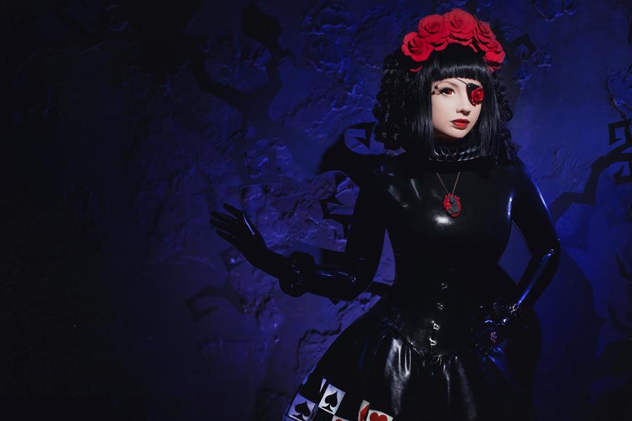 Her dark Majesty by Violet-Spider
