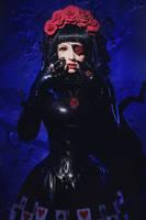 Dark Roses by Violet-Spider