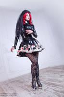 Black Veil Bride by Violet-Spider