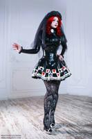 Black Veil Bride III by Violet-Spider