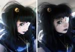 Violet_Spider old school goth