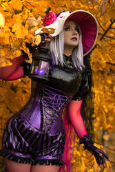 ANASTASIA VOLODINA / THIS IS HALLOWEEN by Violet-Spider