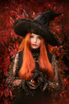 ANASTASIA VOLODINA / HALLOWEEN WITCH by Violet-Spider