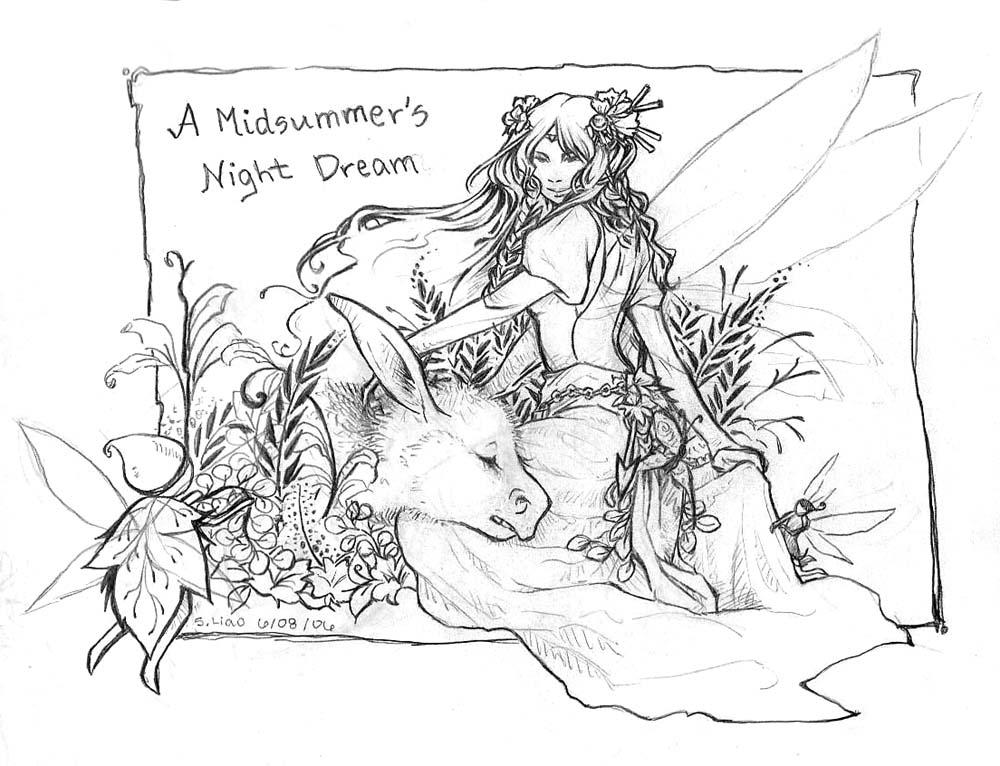 midnights summer dream Like most of the conflict in shakespearean comedies, that in the play 'a midsummer night's dream' is mostly silly and petty however, there is one.