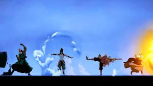 Wallpaper Legend of Korra Intro (widescreen)