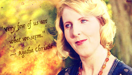 Doctor Who Wallpaper: Agatha Christie