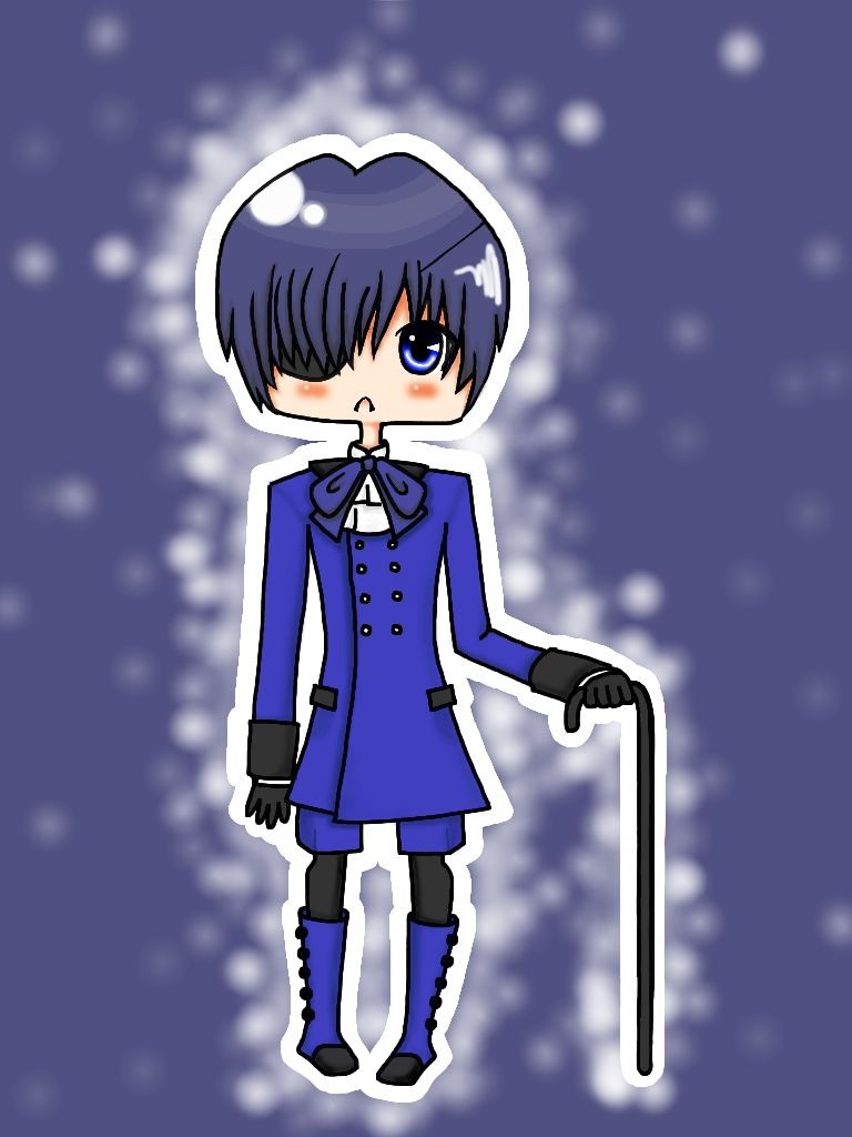 Super Duper Sparkly Excitingly Gorgeous Ciel! by fawntrash