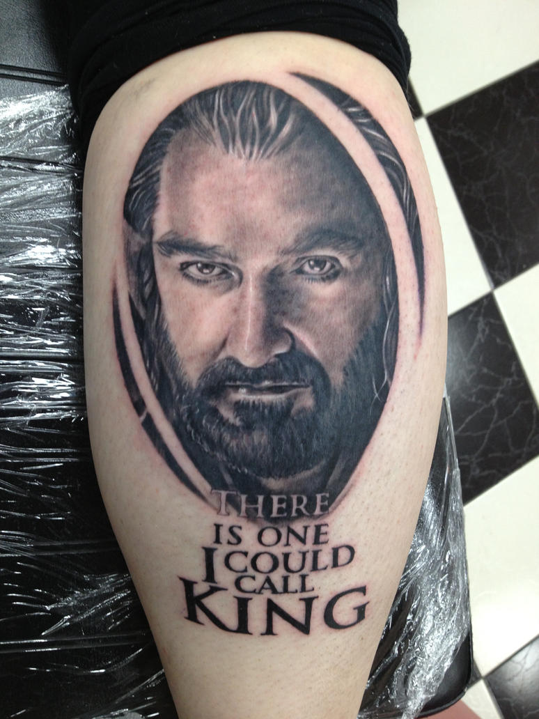 Thorin Oakenshield Tattoo by Paigemon