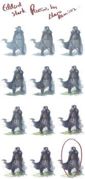 Eddard Stark: Process