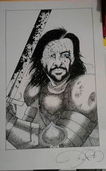 The Hound by Jaime Coker (2016)