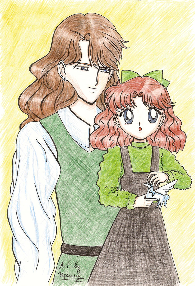 Lord Nephrite and Naru by gersimy