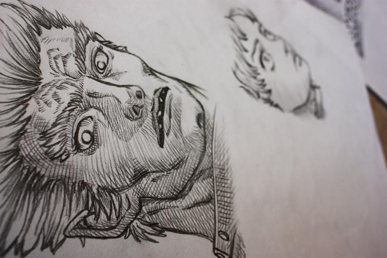 Berserk Sketch by Gionetti