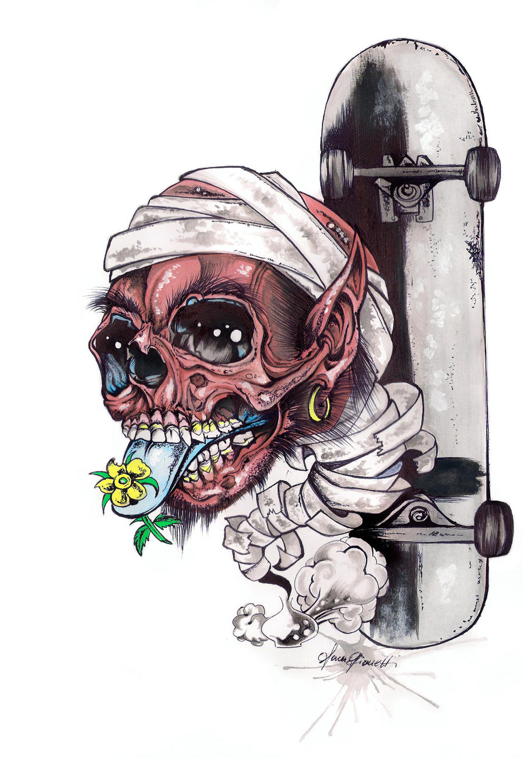 Skull by Gionetti