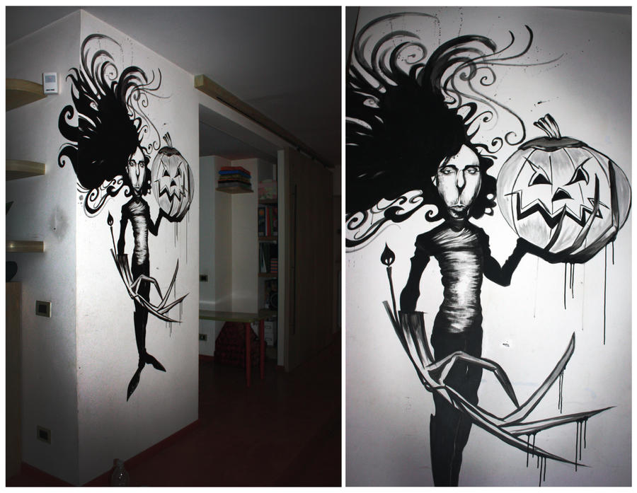 tim burton halloween decoration by gionetti