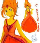 Flame Princess doodles