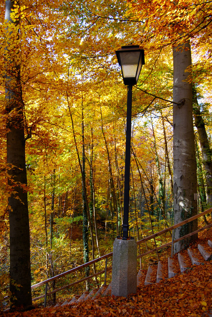Narnia's Lamp-Post in Salzburg by Noemy009