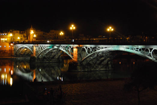 Bridge by night