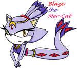 Blaze the Mer-Cat