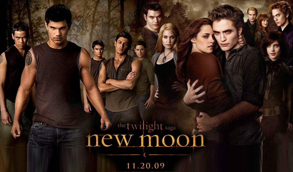 The Cullens new moon - cullens + wolf packxoxomissashlee on deviantart