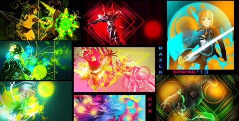 Razer GFX Spring Works '13 by RazerGFX