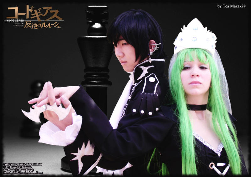 The Witch and The Warlock - CG by TeaMazaki