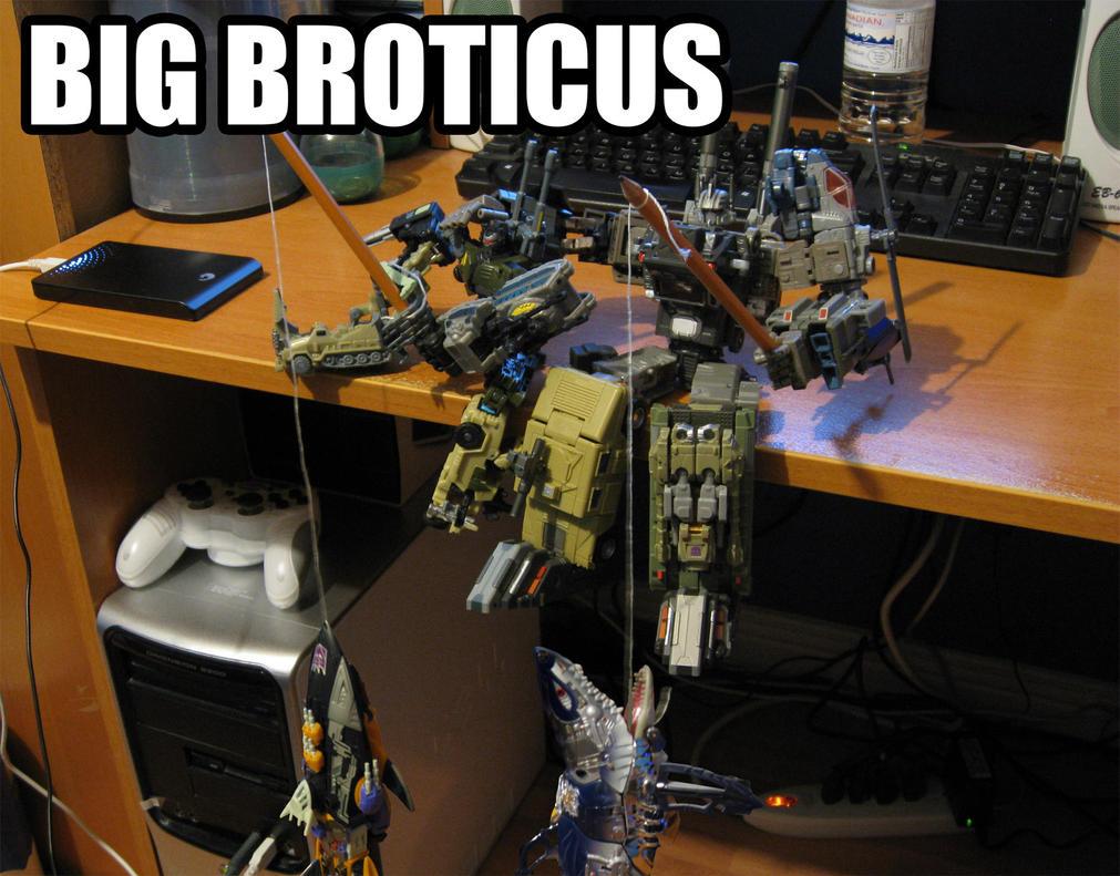 Big Broticus by Ultimatetransfan