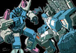 Kotteri's Overlord vs Fortress Maximus Colored