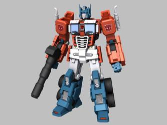 3D Optimus by Ultimatetransfan