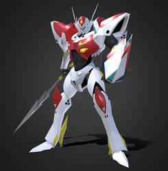 3D Tekkaman Blade by Ultimatetransfan