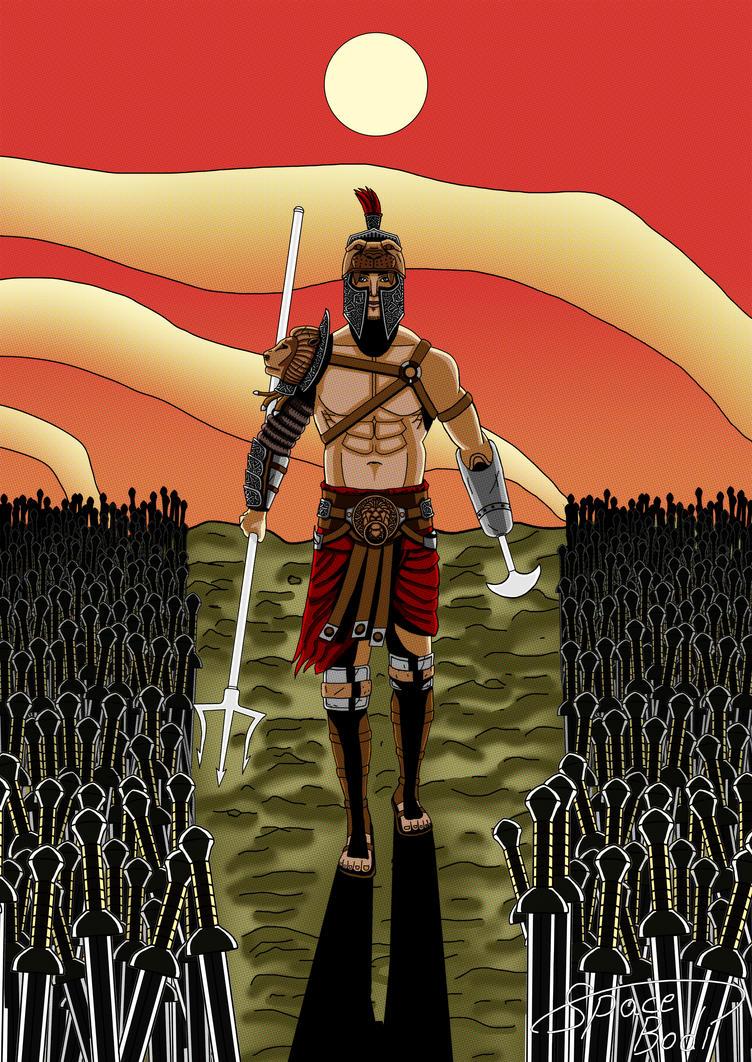 Gladiator - Lions Slayer by SpaceBodi