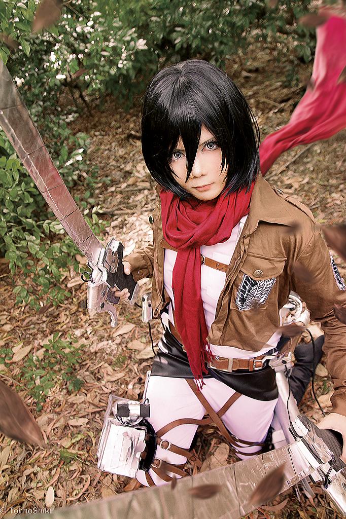 Mikasa Ackerman by Inushio