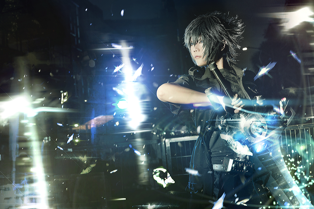 Noctis in the Dark by Inushio