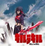 Kill La Kill cosplay anime poster