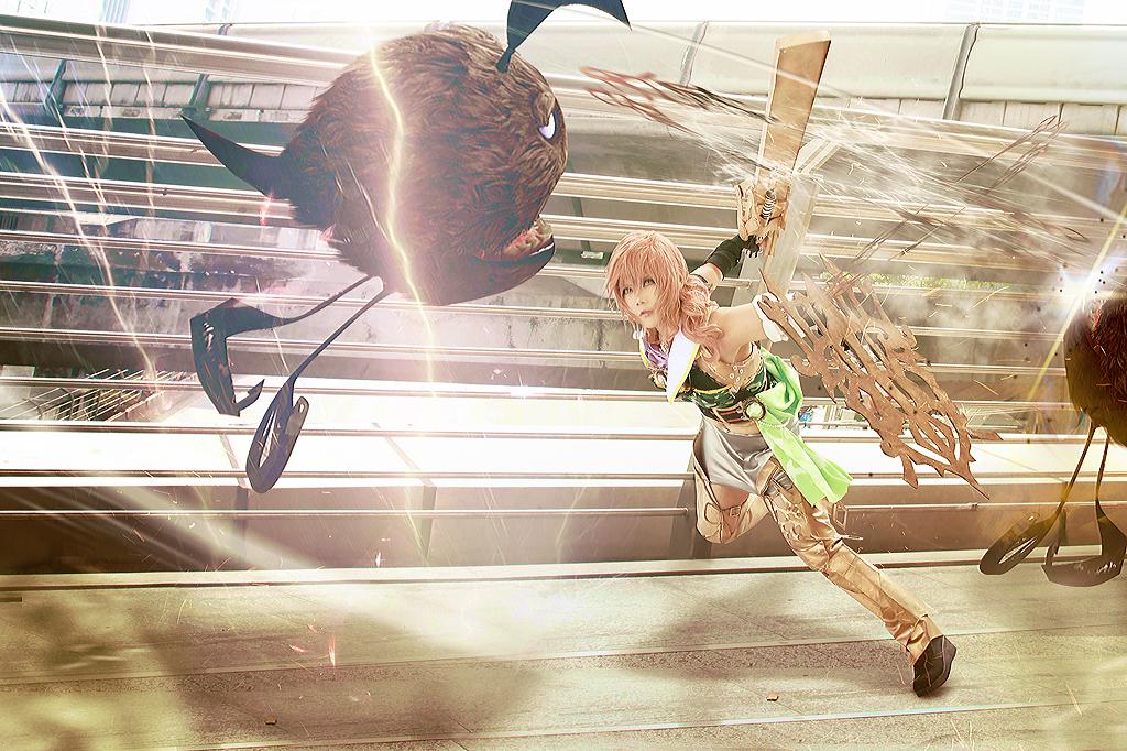 Fighting Mode LRFFXIII by Inushio